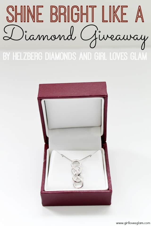 Valentine's Day Diamond Giveaway from Helzberg Diamonds and Girl Loves Glam