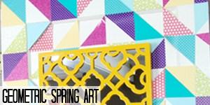 Geometric Spring Art