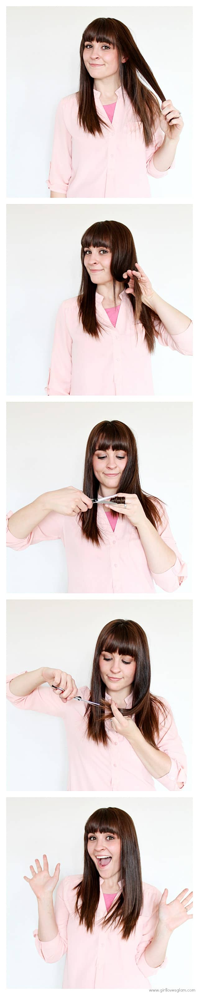 How to cut your own dead ends on www.girllovesglam.com #beauty #tutorial #hair
