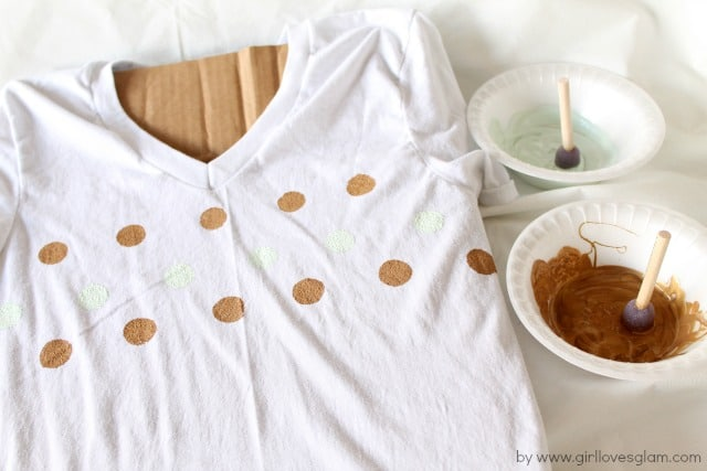 How to Make a polka dot shirt