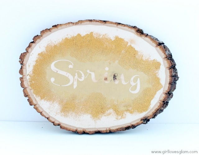 Spring Wooden Sign Tutorial