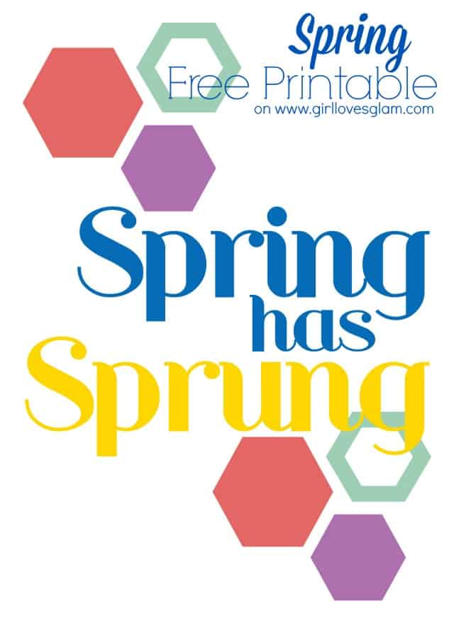 Free Printable for Spring