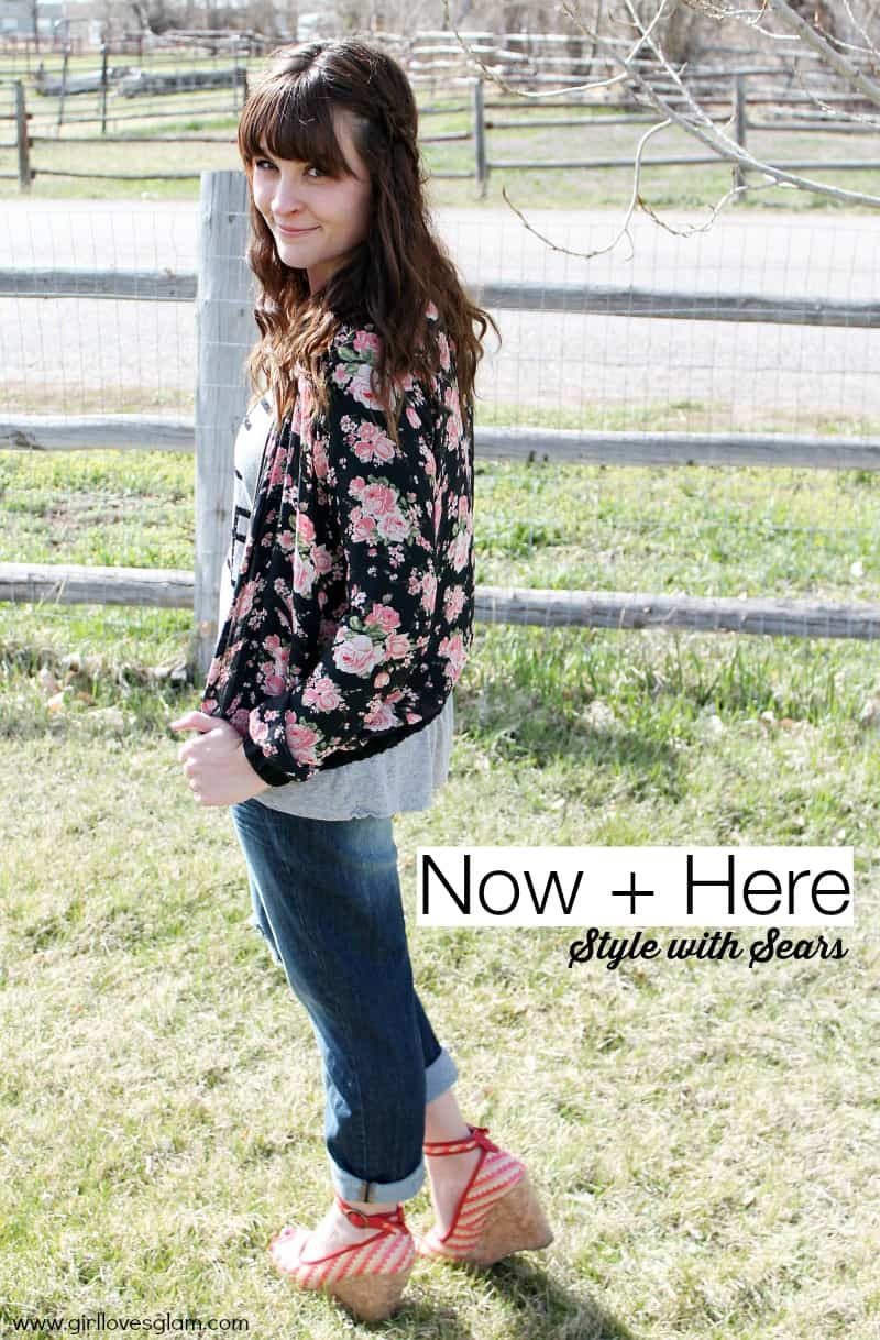 Now + Here Style with Sears #Shop