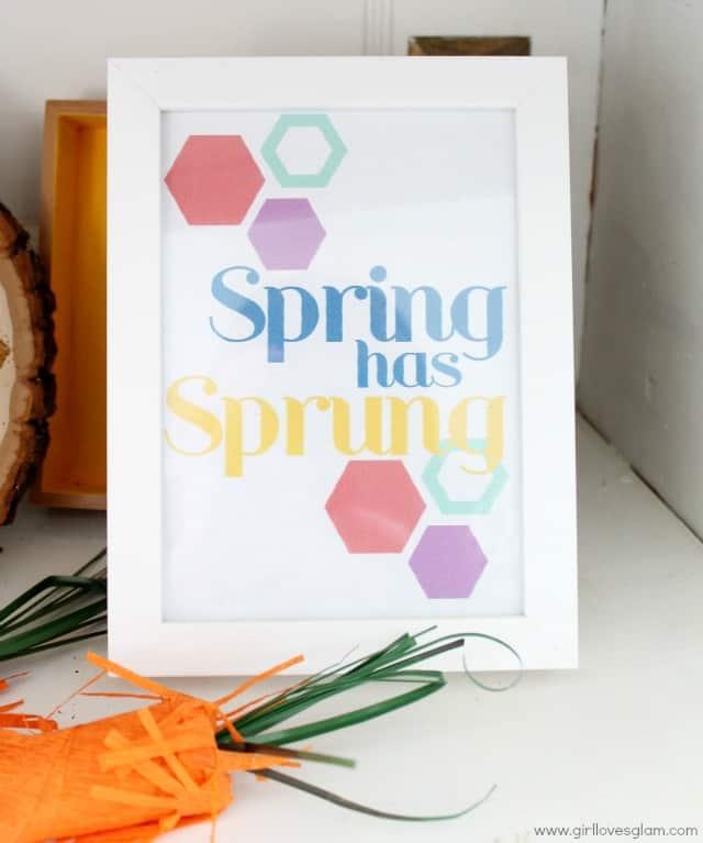 Spring has Sprung Printable