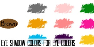 Eye Shadow Colors for Eye Colors