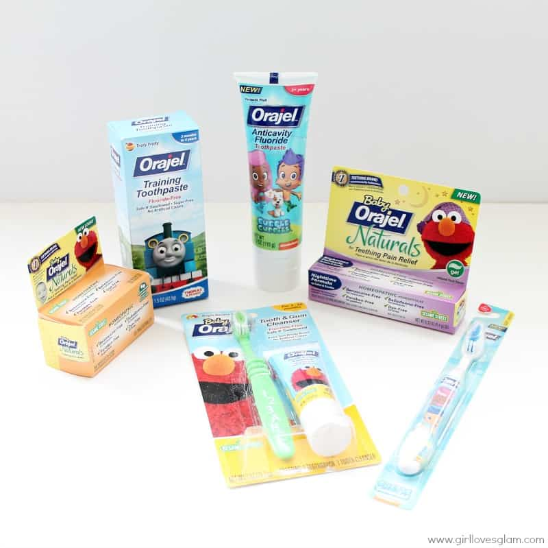 Orajel Baby and Toddler Products