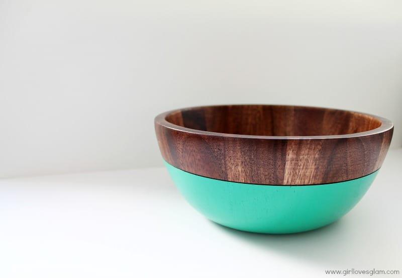 Red Envelope Turquoise Bowl