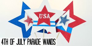 4th of July Parade Wands