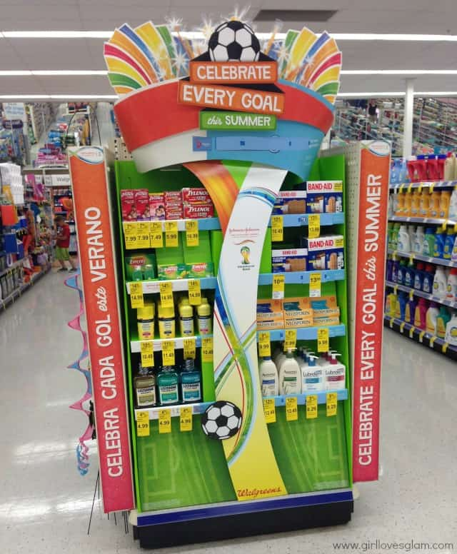Celebrate Every Goal in Walgreens