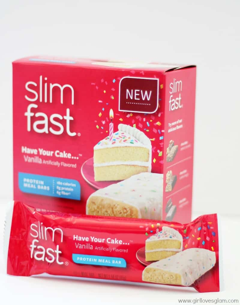 Slimfast Have Your Cake Protein Meal Bars