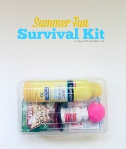 Summer Fun Survival and First Aid Kit #ad