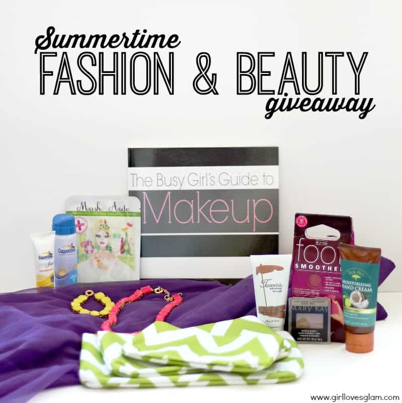 summertime fashion and beauty giveaway