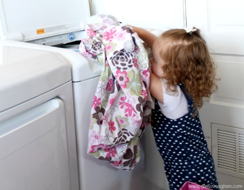 Teaching Toddler's Chores