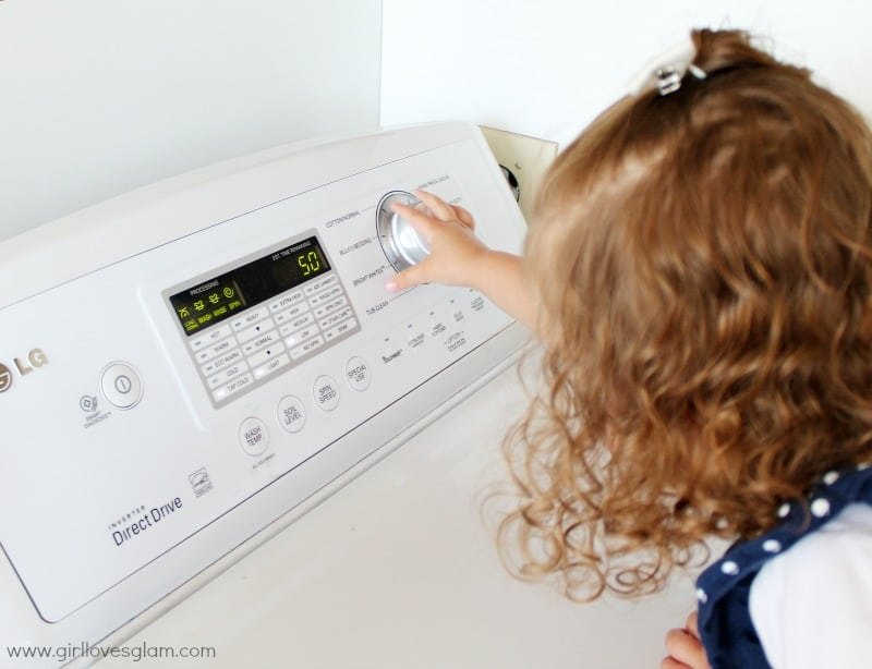 Toddler Laundry Chores