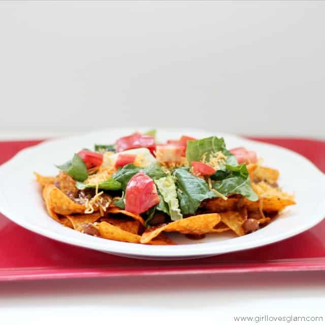 American Tacos Recipe on www.girllovesglam.com
