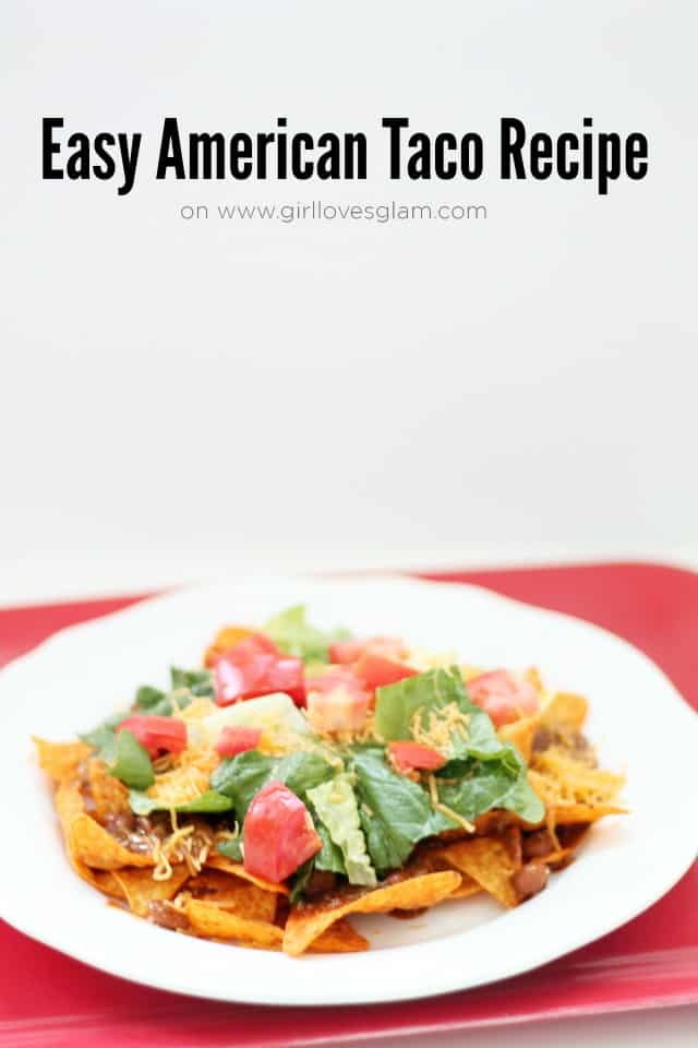 Easy American Taco Recipe on www.girllovesglam.com