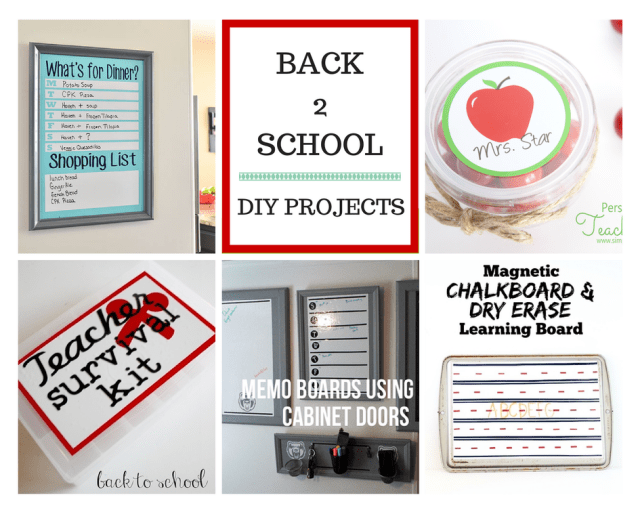 Awesome Back to School Ideas