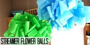 Streamer Flower Balls
