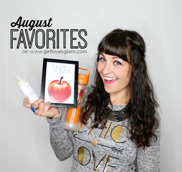 August Favorites revealed from www.girllovesglam.com