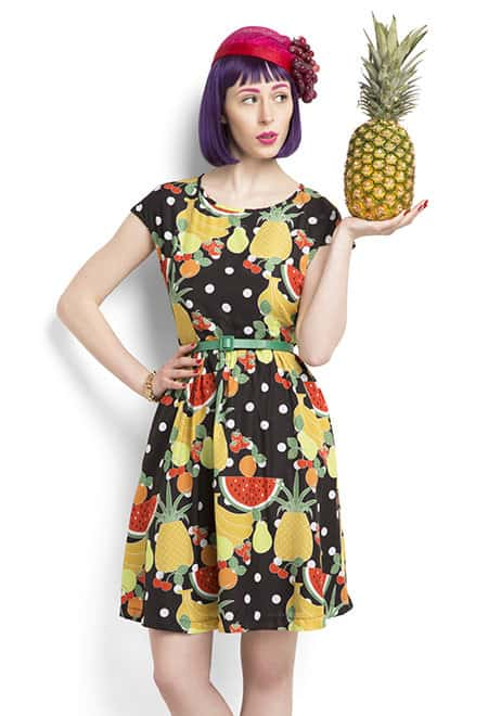 Mod Cloth Farmer's Market Dress