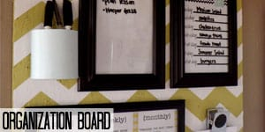 Organization Board Command Center on www.girllovesglam.com