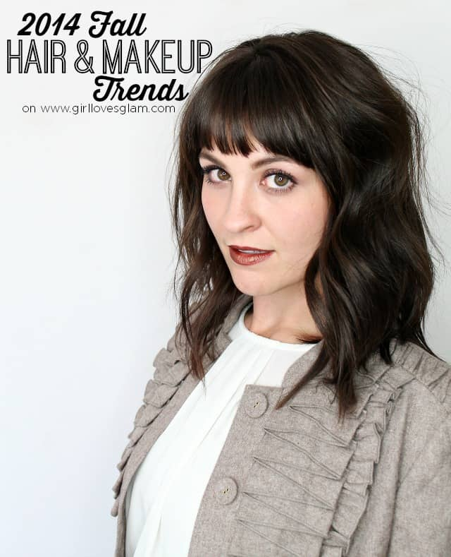2014 Fall Hair and Makeup Trends on www.girllovesglam.com
