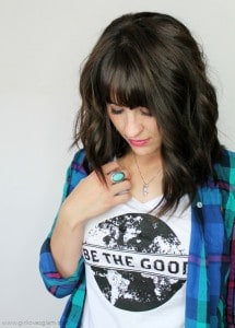 Be the Good in the World Shirt on www.girllovesglam.com