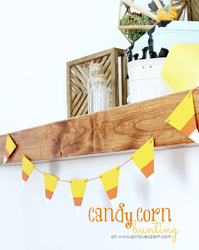 Candy Corn Bunting on www.girllovesglam.com