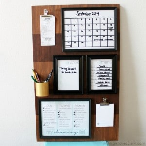 Organization Board Command Center Tutorial on www.girllovesglam.com