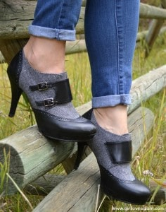 Cute and comfortable heels from Payless