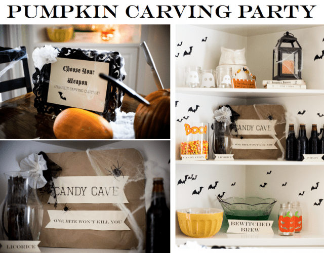 Pumpkin Carving Party - Do It Yourself Divas