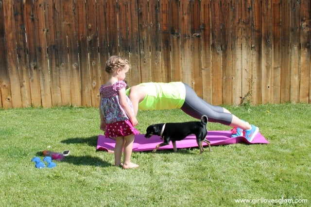 Working out as a mom