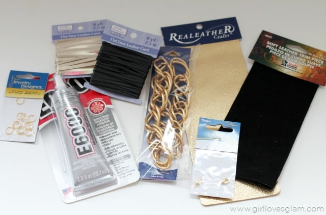 Chain link bracelet tools on www.girllovesglam.com
