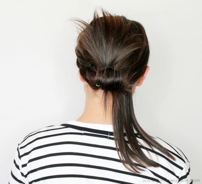 Easy Hairstyle Tutorial on www.girllovesglam.com