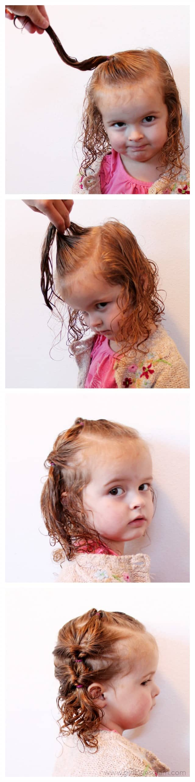 Easy Toddler Hairstyle on www.girllovesglam.com