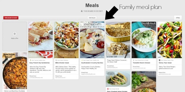Planning Meals for a Family on www.girllovesglam.com