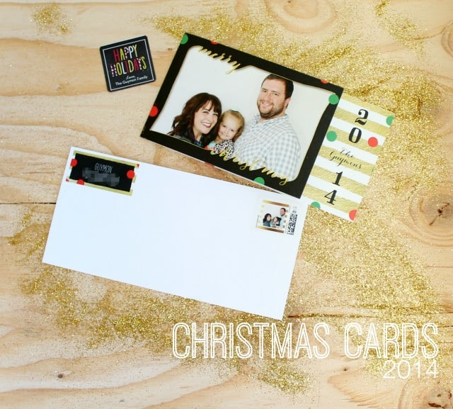 Christmas cards from Shutterfly 2014