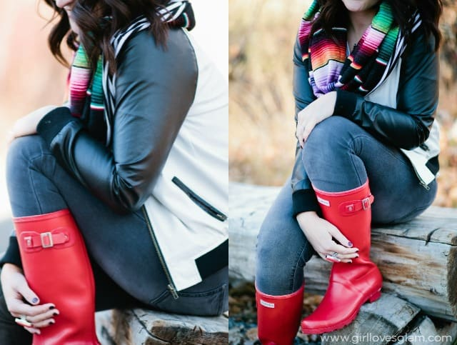 Comfortable and Colorful Fall Outfit on www.girllovesglam.com
