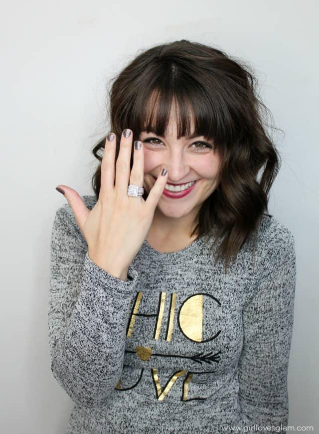 Huge Diamond Ring Giveaway on www.girllovesglam.com