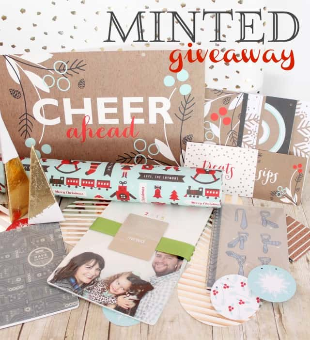 $125 Minted Giveaway on www.girllovesglam.com
