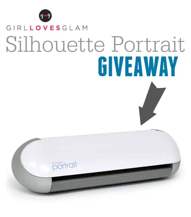 Silhouette Portrait Giveaway on www.girllovesglam.com