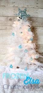 Frozen Elsa Christmas Tree on www.girllovesglam.com