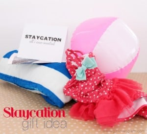 Staycation Family Gift Idea