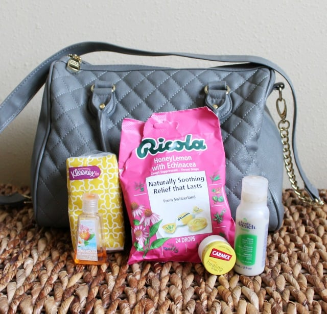 Winter Cold Essentials for your purse on www.girllovesglam.com #swissherbs