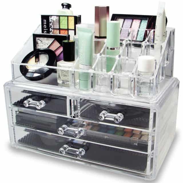 Acrylic Jewelry or Makeup Organizer