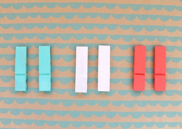 Colorful Clothes Pins on www.girllovesglam.com