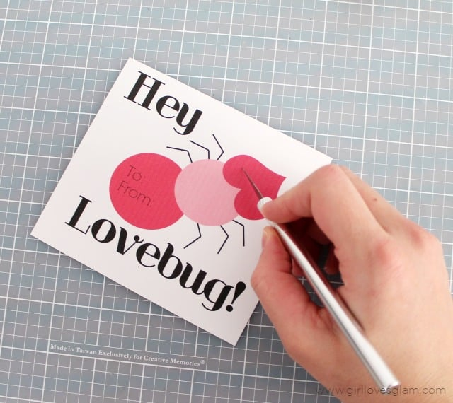 DIY Printable Valentines on www.girllovesglam.com