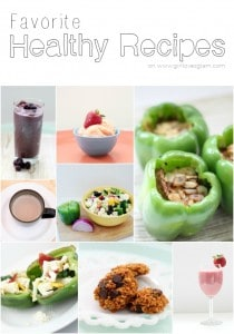 Favorite Healthy Recipes on www.girllovesglam.com
