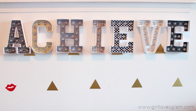 Heidi Swapp Marquee Letters on www.girllovesglam.com
