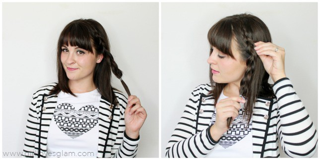How to pancake a braid on www.girllovesglam.com